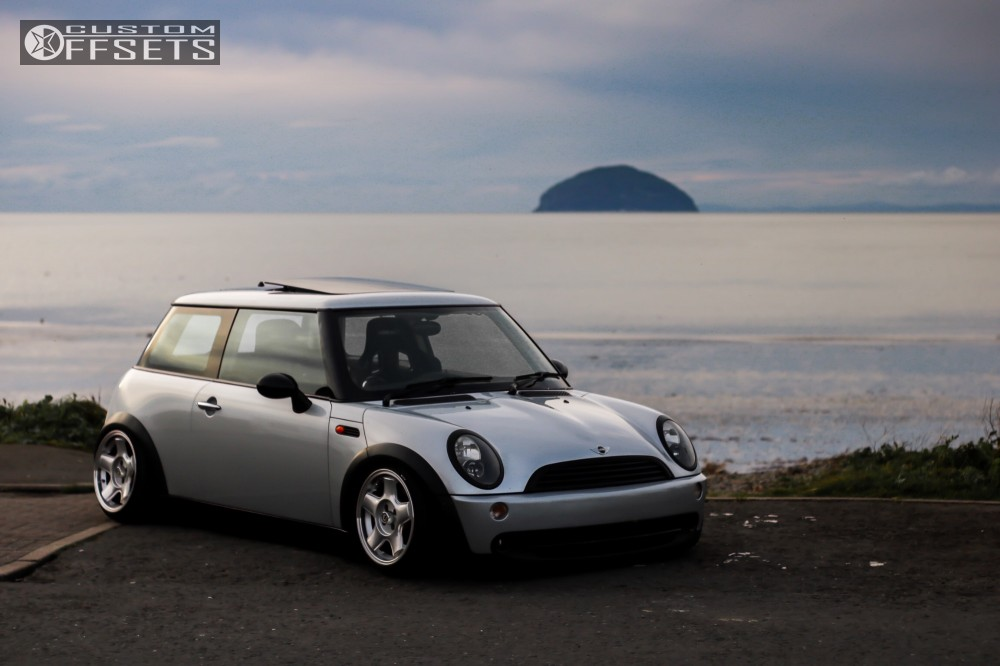 1 2002 Cooper Mini Air Lift Performance Bagged Schmidt Modernline Other Silver