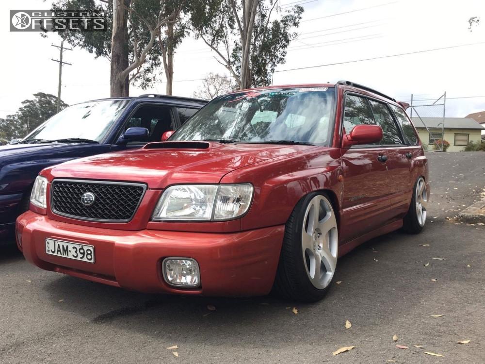 2001 Subaru Forester Rotiform Tmb K Sport Coilovers Custom Offsets