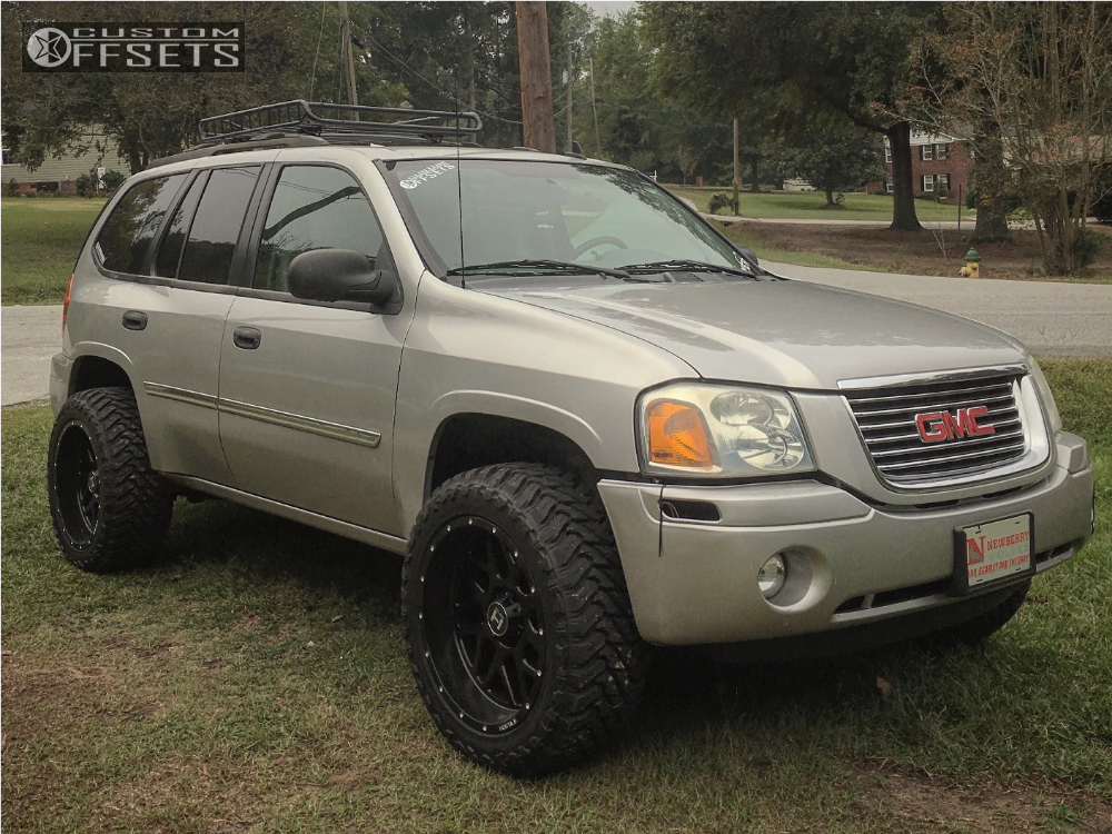 2008 gmc envoy hostile sprocket supreme suspension suspension lift 3in rh customwheeloffset com 2008 GMC Envoy Denali 2008 GMC Envoy Interior