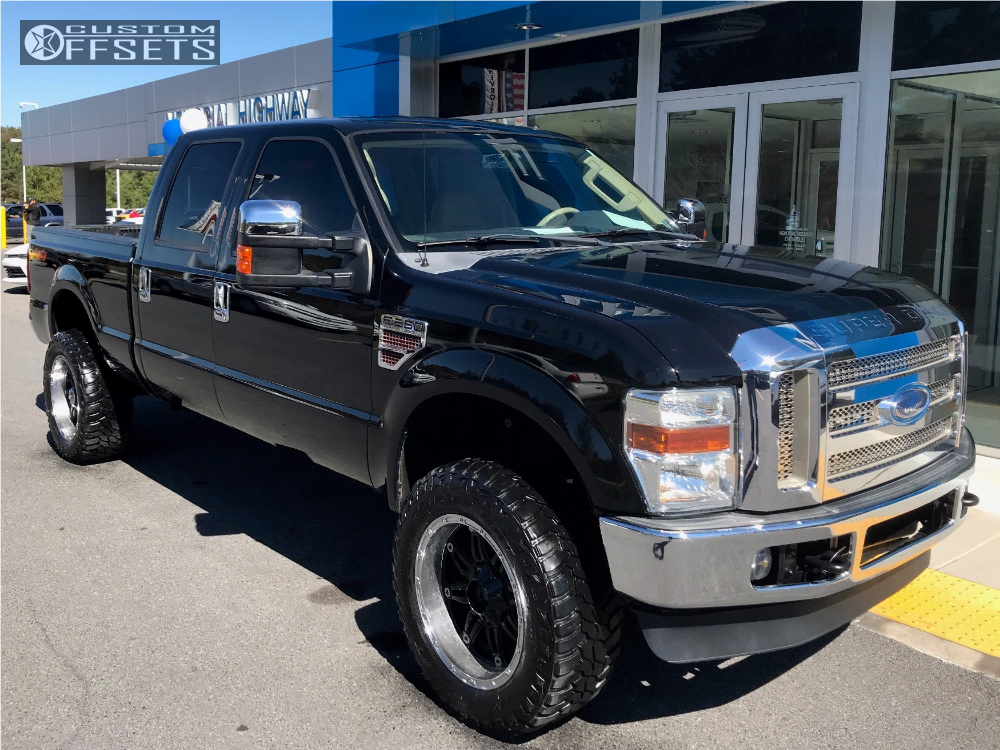2008 ford f 250 super duty fuel hostage rough country suspension lift 6in. Black Bedroom Furniture Sets. Home Design Ideas