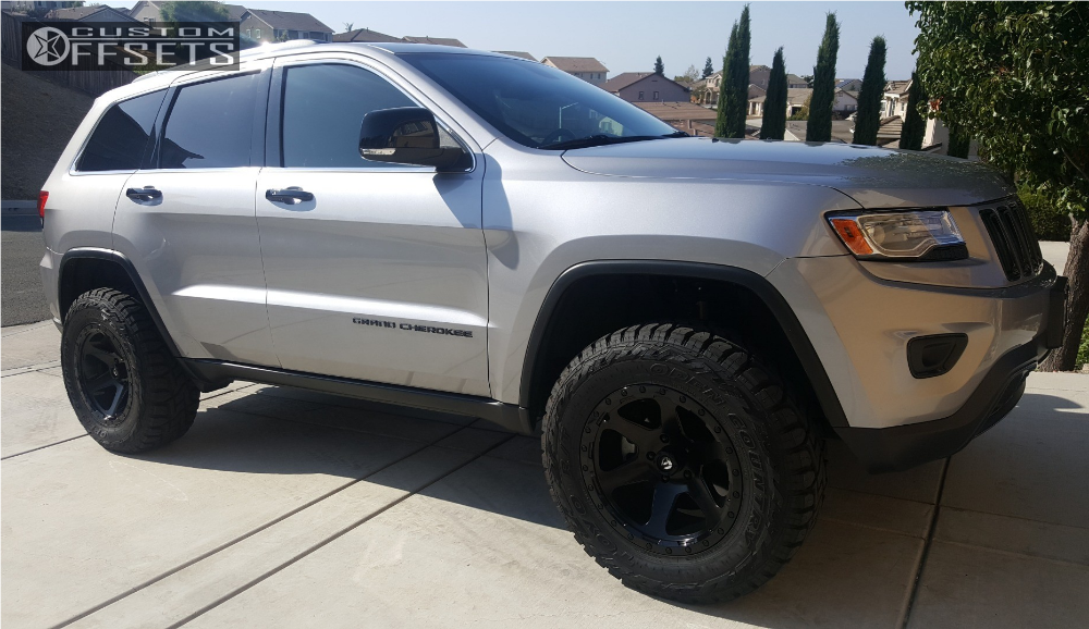 Jeep Grand Cherokee Lift Kit >> 2014 Jeep Grand Cherokee Fuel Ripper Rocky Road Outfitters