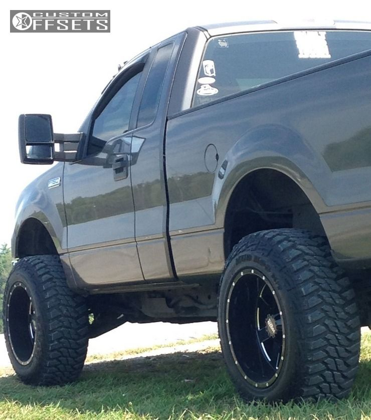 Leveling Kit For Ford F150: Wheel Offset 2005 Ford F 150 Super Aggressive 3 5 Leveling