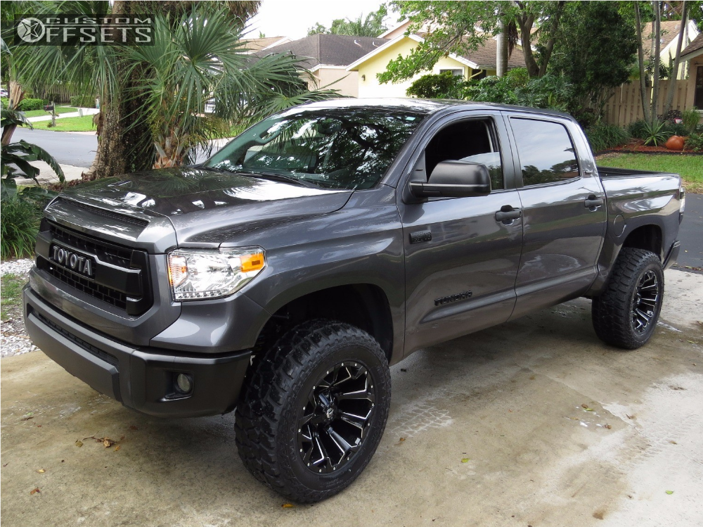 2014 toyota tundra fuel assault readylift suspension lift 4in. Black Bedroom Furniture Sets. Home Design Ideas
