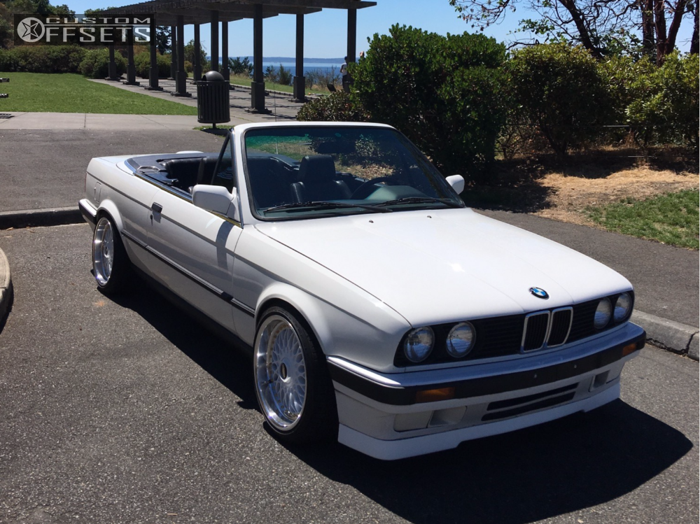 1991 Bmw 3 Series Bbs Rc090 Ground Control Coilovers