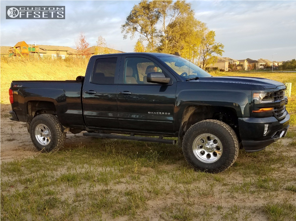 1 2017 Silverado 1500 Chevrolet Bds Suspension Lift 4in Alloy Ion Style 101 Polished