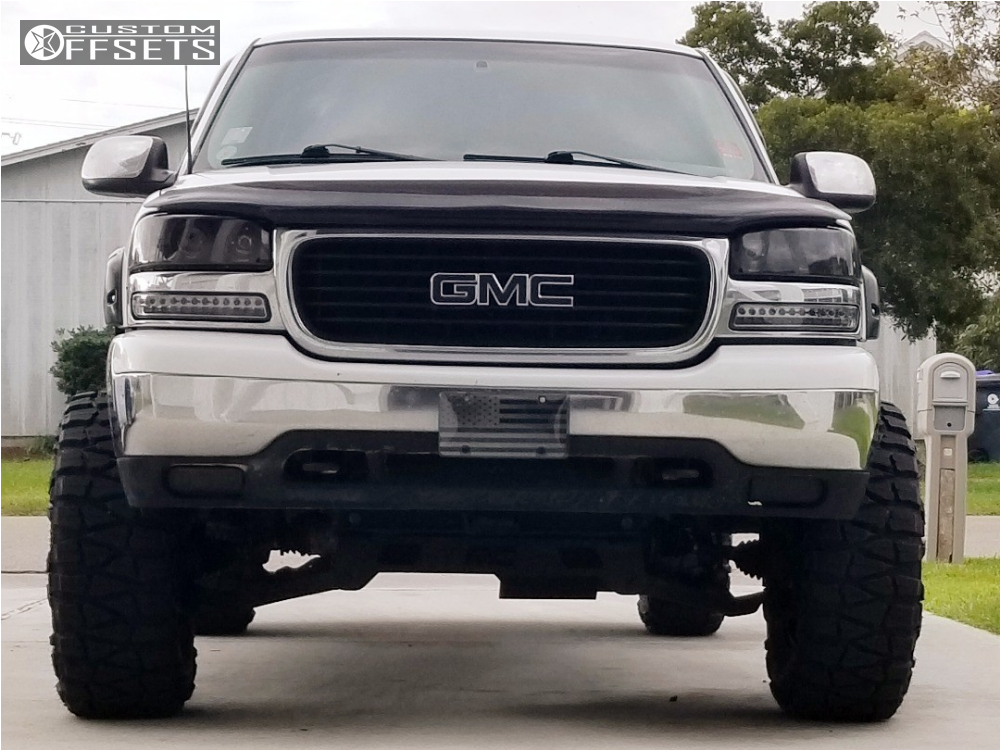 2000 gmc sierra 2500 hd method standard rough country suspension lift 6 custom offsets 2000 gmc sierra 2500 hd method standard