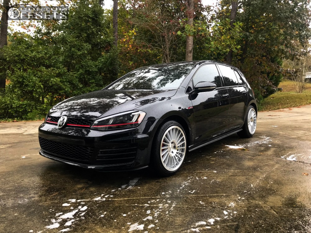 2017 volkswagen gti rotiform ind t stock stock. Black Bedroom Furniture Sets. Home Design Ideas