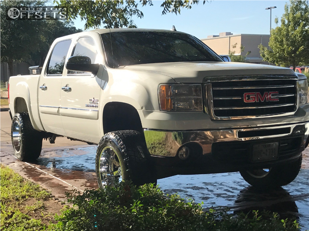 1 2012 Sierra 1500 Gmc Zone Suspension Lift 65in Hostile Alpha Chrome