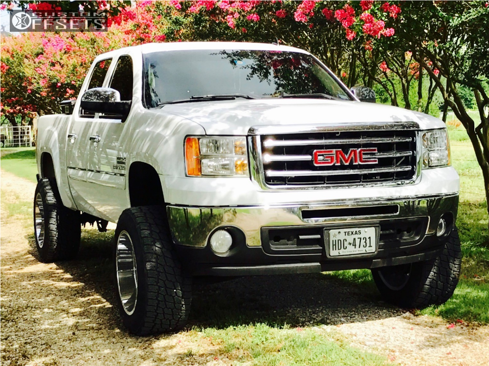2 2012 Sierra 1500 Gmc Zone Suspension Lift 65in Hostile Alpha Chrome