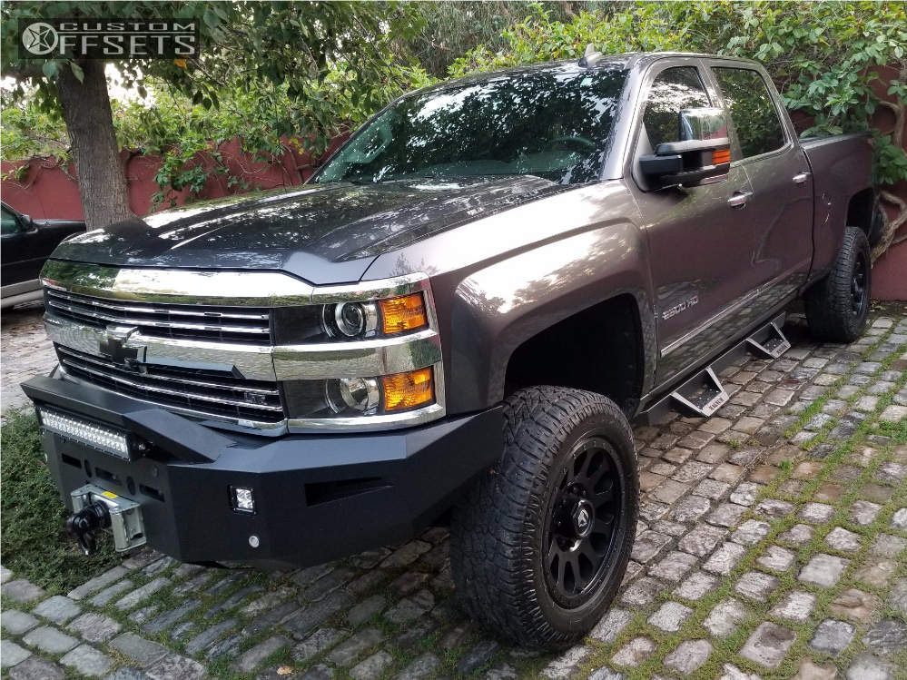 1 2016 Silverado 2500 Hd Chevrolet Bilstein Leveling Kit Fuel Vector Matte Black