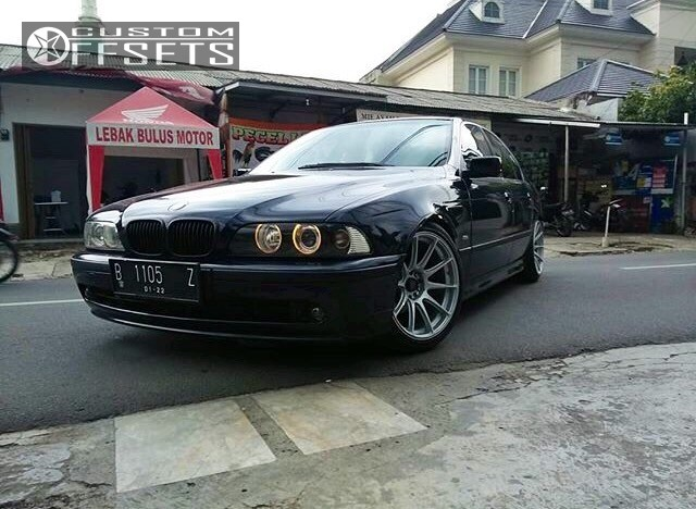 Wheel Offset 1997 Bmw 525i Nearly Flush Lowering Springs