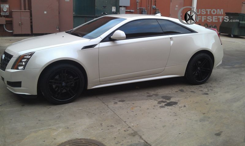Wheel Offset 2011 Cadillac Cts Flush Stock Custom Rims