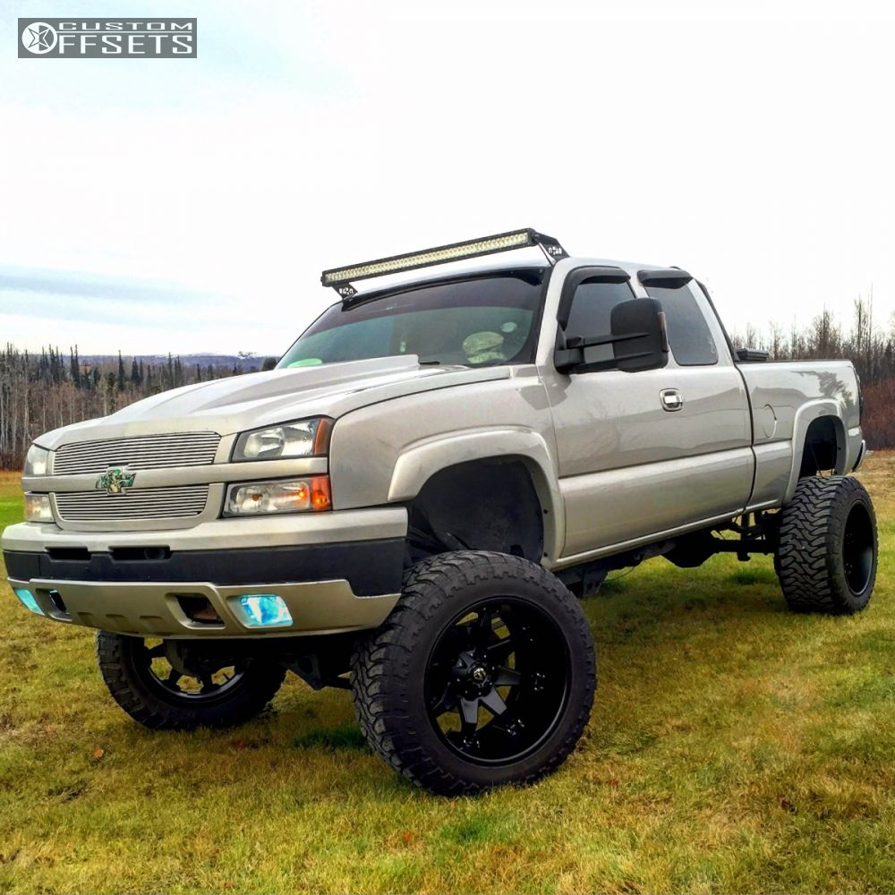 2005 chevrolet silverado 1500 fuel octane fabtech suspension lift 6in body 3in. Black Bedroom Furniture Sets. Home Design Ideas