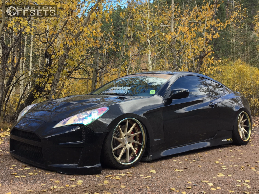 ... 1 2011 Genesis Coupe Hyundai Airrex Air Suspension Avant Garde F421  Custom ...
