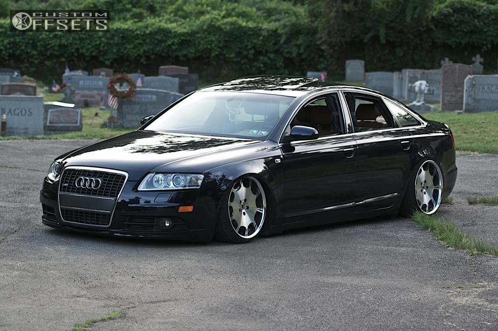 2008 Audi A6 Quattro Work Air Lift Performance   Custom ...