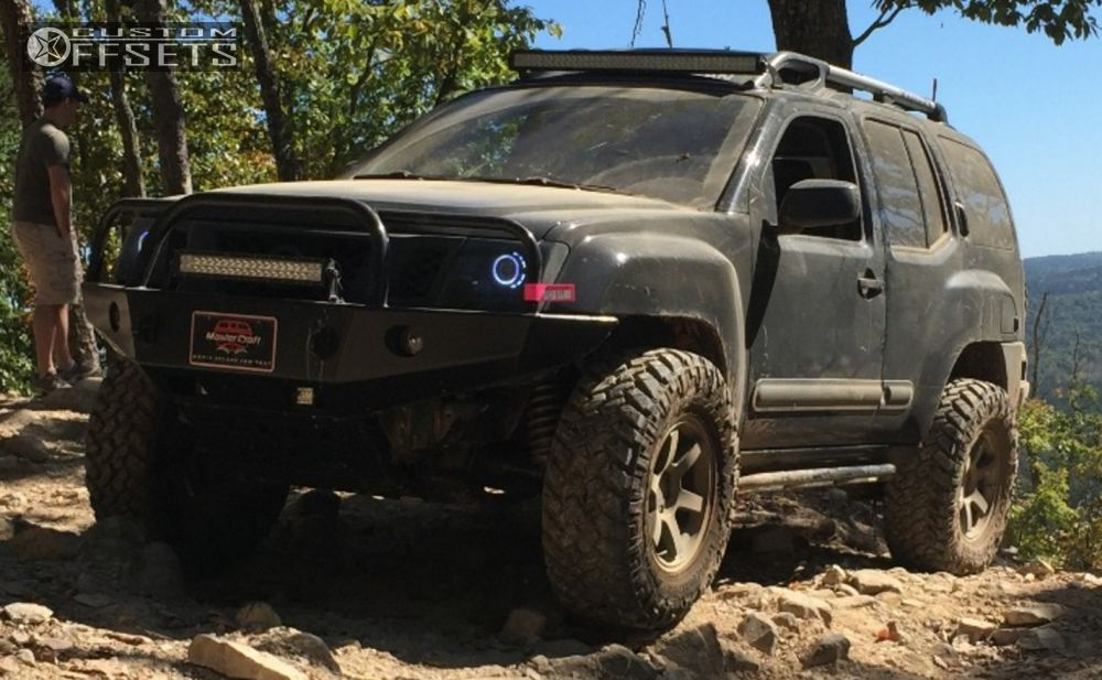 Wheel Offset 2011 Nissan Xterra Super Aggressive 3 5 Suspension Lift