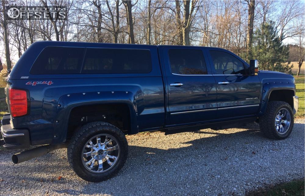12 2016 Silverado 2500 Hd Chevrolet Zone Leveling Kit Cali Offroad Dirty Chrome