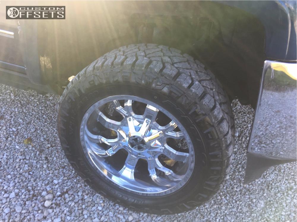 5 2016 Silverado 2500 Hd Chevrolet Zone Leveling Kit Cali Offroad Dirty Chrome