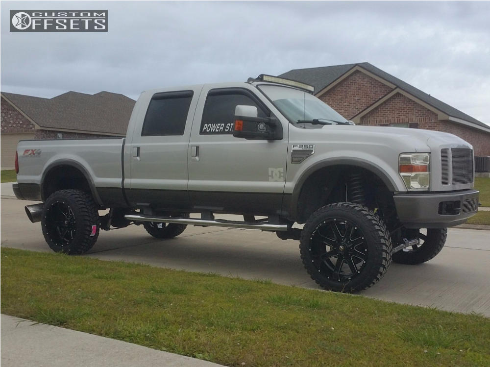 2008 ford f 250 super duty ballistic rage rough country suspension lift 6in. Black Bedroom Furniture Sets. Home Design Ideas