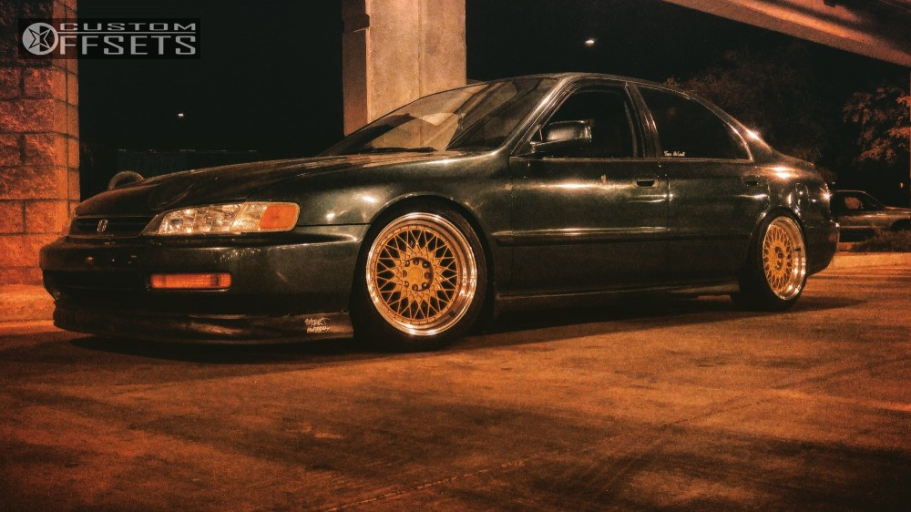 ... 3 1997 Accord Honda Raceland Coilovers Aodhan Ah05 Gold ...