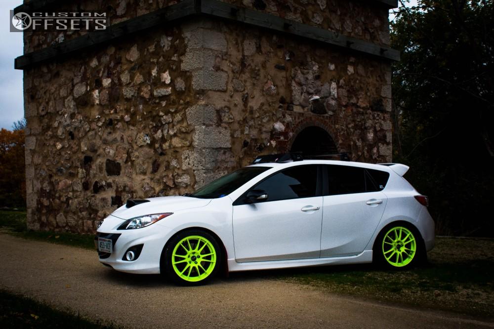 mazda 3 2013 custom. 2 2013 3 mazda swift spec r lowering springs oz racing ultraleggera custom