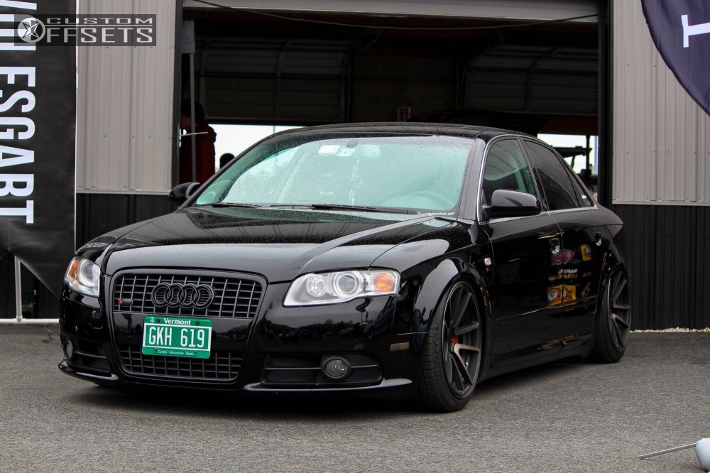 2008 audi a4 quattro rotiform spf air lift performance air suspension. Black Bedroom Furniture Sets. Home Design Ideas
