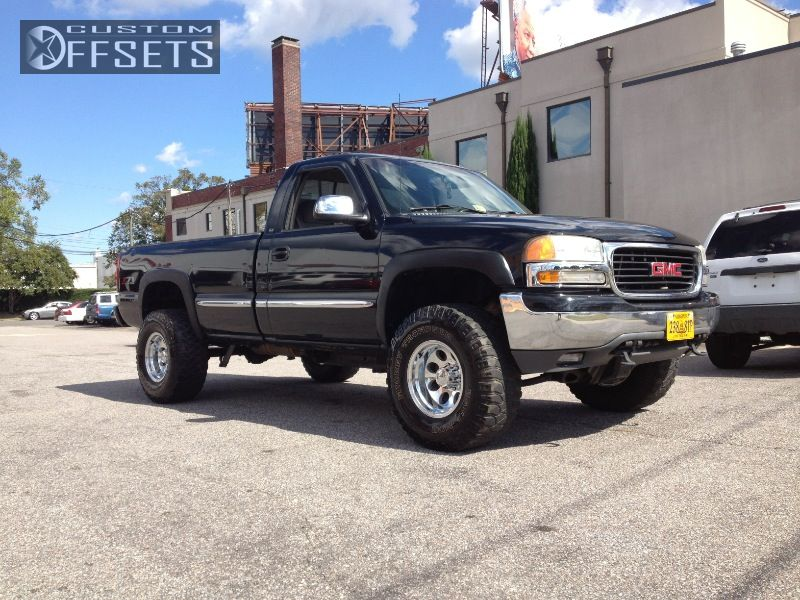 1 1999 Sierra 1500 Gmc Leveling Kit Ion 171 Polished Polished Super Aggressive 3