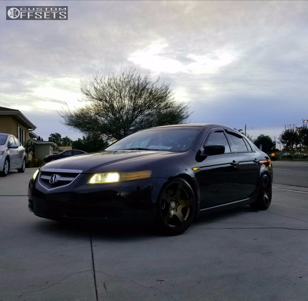 2004 Acura Tl Rotiform Nue Function And Form Coilovers