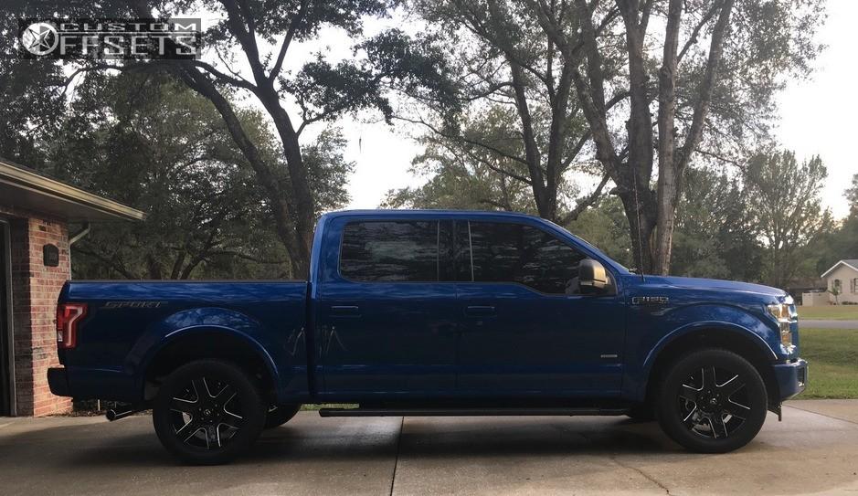 12 2017 F 150 Ford Stock Stock Fuel Tank Black