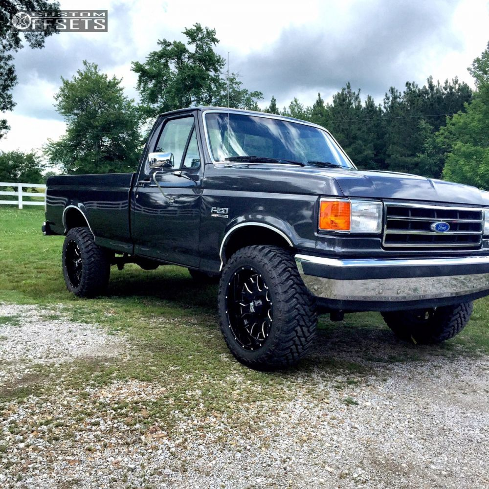 1989 ford f 150 xd xd808 rough country suspension lift 4in. Black Bedroom Furniture Sets. Home Design Ideas