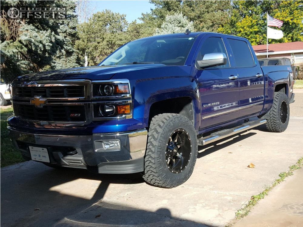2014 Chevrolet Silverado 1500 Moto Metal Mo970 Rough Country