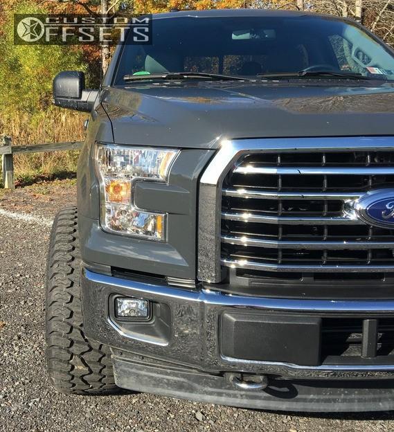 12 2017 F 150 Ford Stock Toxic Punisher Black