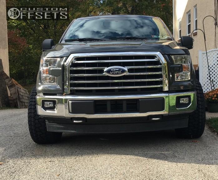 2 2017 F 150 Ford Stock Toxic Punisher Black