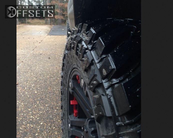 2 2012 Sierra 1500 Gmc Suspension Lift 3 Tuff T01 Black Slightly Aggressive