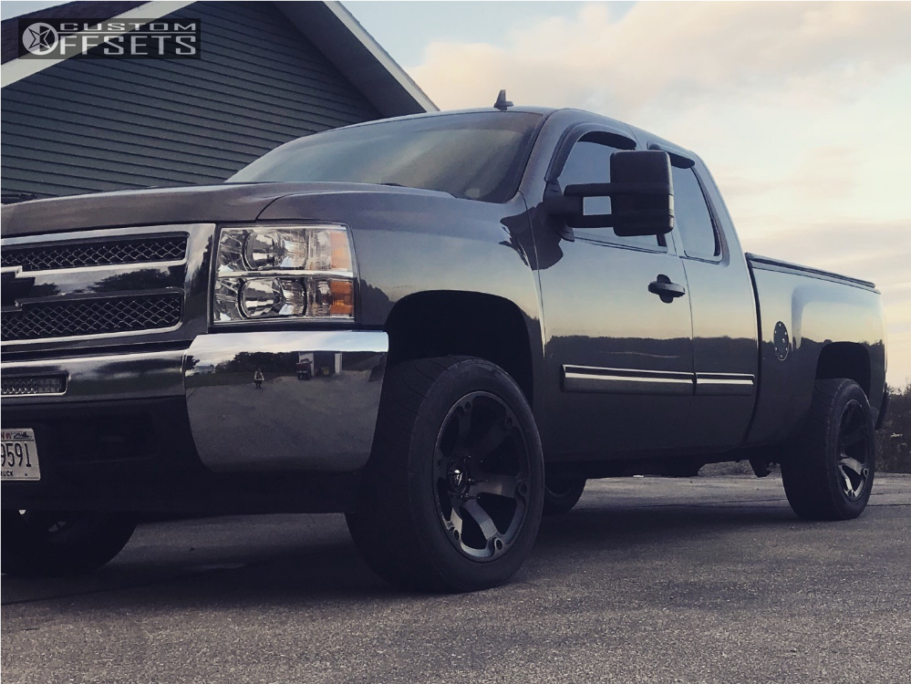 1 2013 Silverado 1500 Chevrolet Rough Country Leveling Kit Fuel Beast Bronze