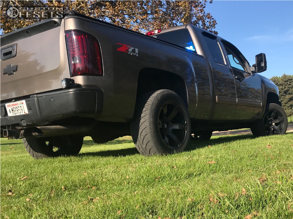 11 2013 Silverado 1500 Chevrolet Rough Country Leveling Kit Fuel Beast Bronze