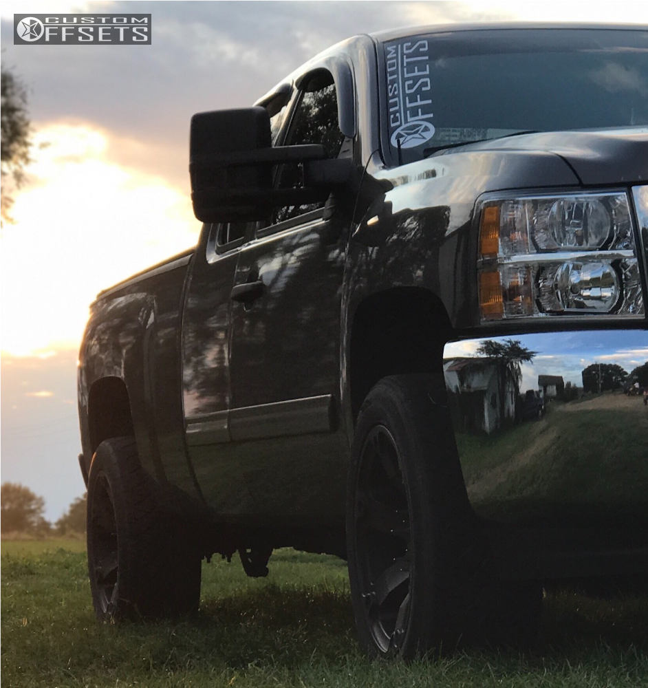 2 2013 Silverado 1500 Chevrolet Rough Country Leveling Kit Fuel Beast Bronze