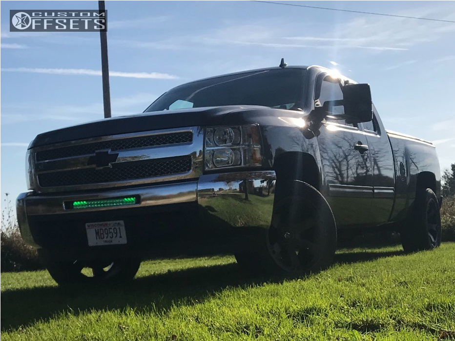 7 2013 Silverado 1500 Chevrolet Rough Country Leveling Kit Fuel Beast Bronze