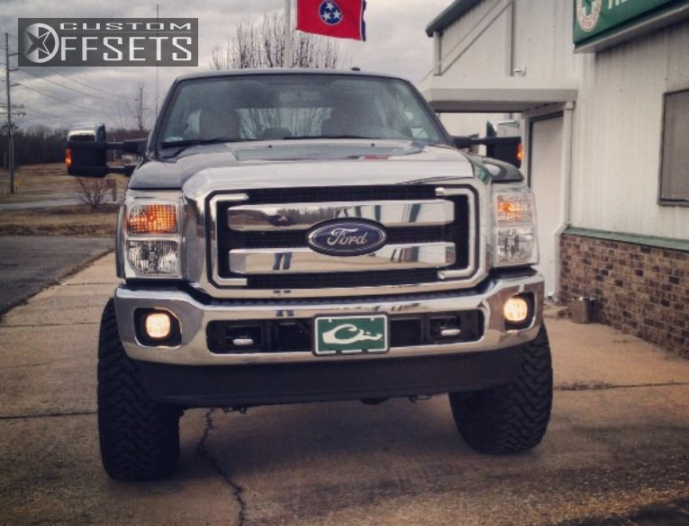 1 2014 F 250 Ford Suspension Lift 6 Fuel Off Road Maverick Black Aggressive 1 Outside Fender