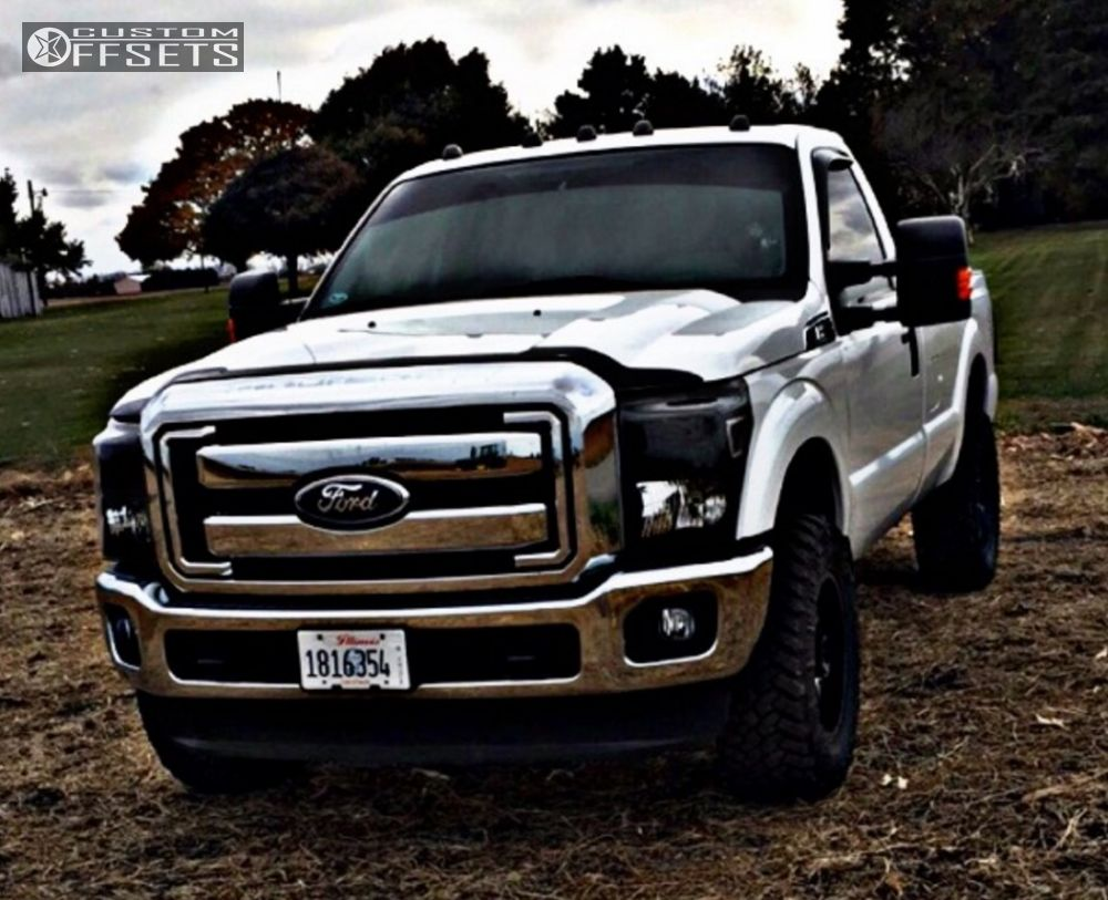 1 2012 f 250 super duty ford stock american racing ar903 machined accents aggressive 1 outside