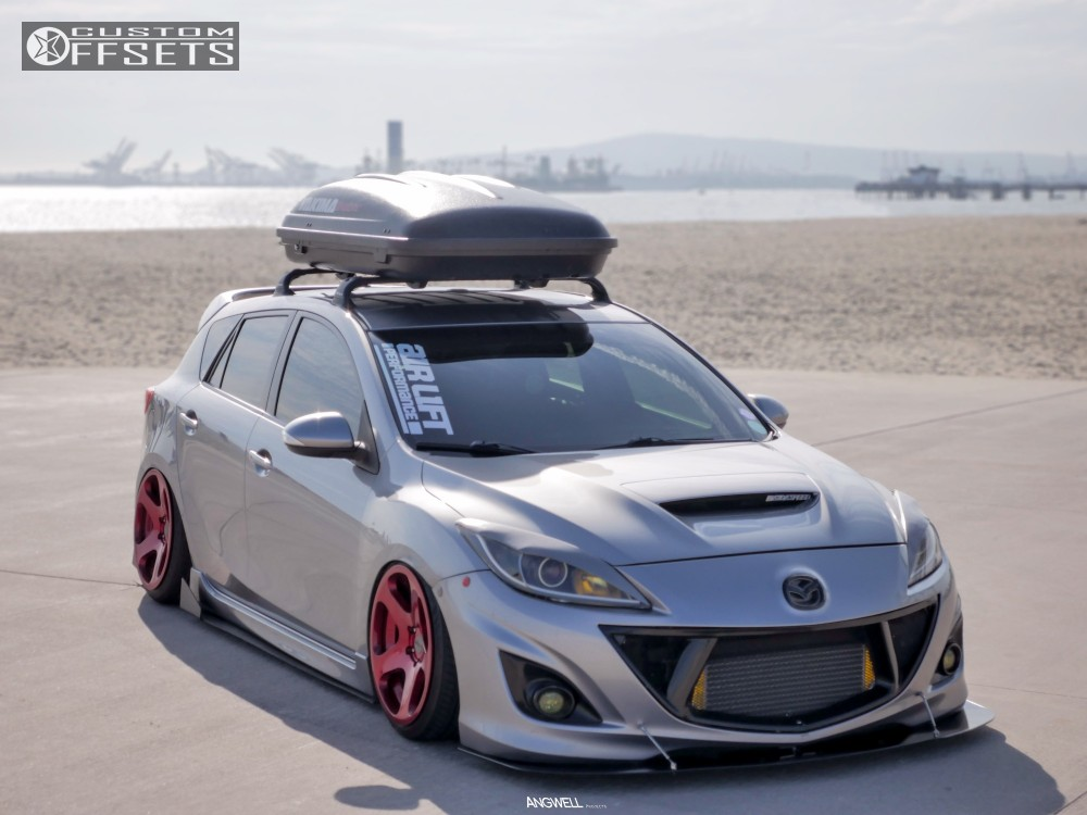 2010 mazda mazdaspeed3 rotiform nue air lift performance. Black Bedroom Furniture Sets. Home Design Ideas