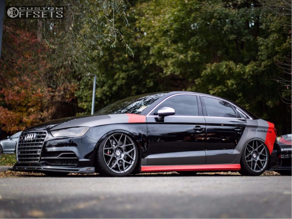 2015 Audi S3 Hre Air Lift Performance Air Suspension