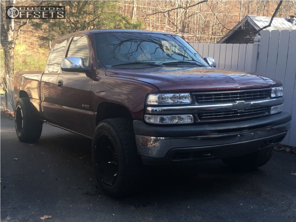 1 2002 Silverado 1500 Chevrolet Rough Country Leveling Kit Vision Prowler Machined Accents