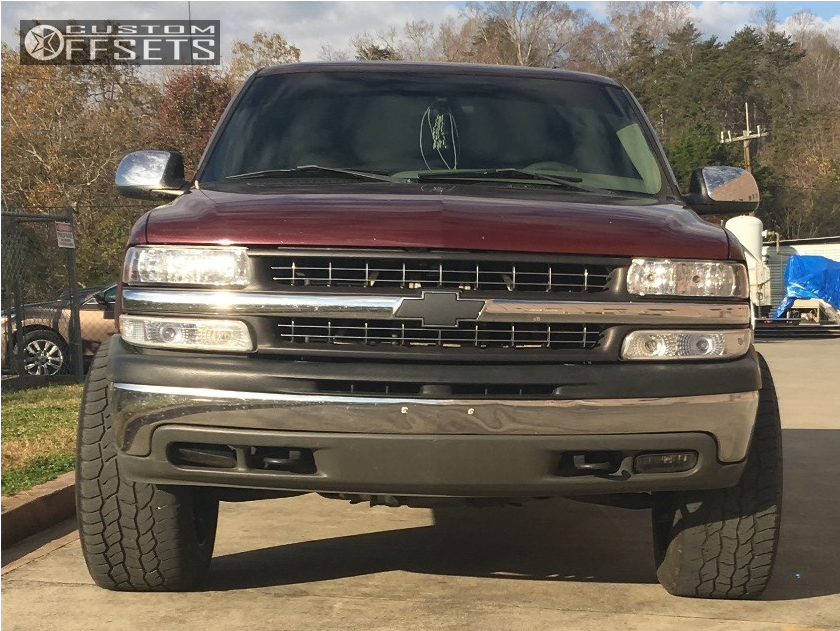 2 2002 Silverado 1500 Chevrolet Rough Country Leveling Kit Vision Prowler Machined Accents
