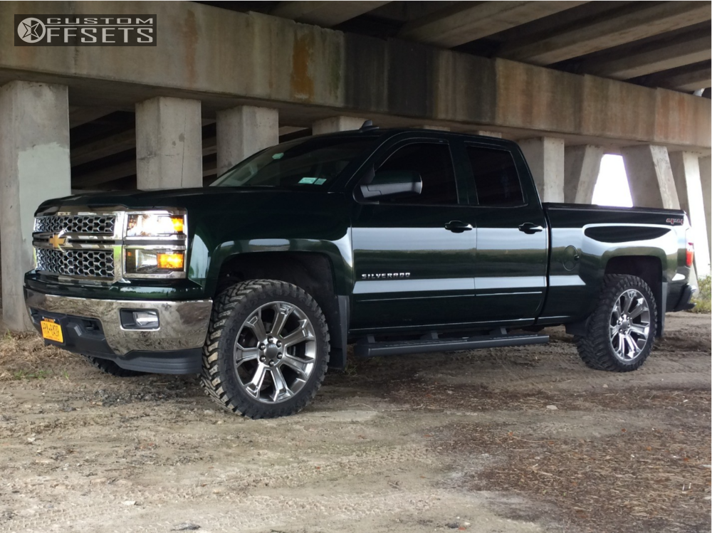 2015 chevrolet silverado 1500 oe performance 166 rough country leveling kit. Black Bedroom Furniture Sets. Home Design Ideas