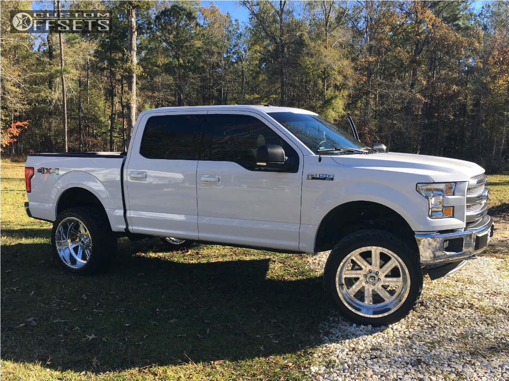 1 2017 F 150 Ford Zone Suspension Lift 6in Fuel Forged Ff07 Polished