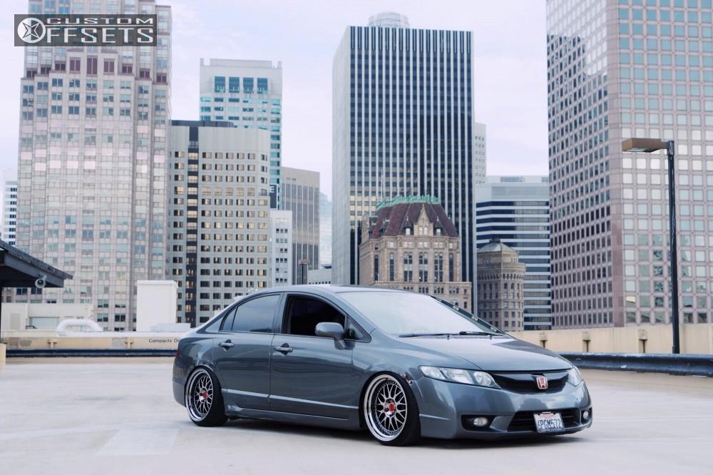2011 Honda Civic Esr Sr01 Cxracing Coilovers
