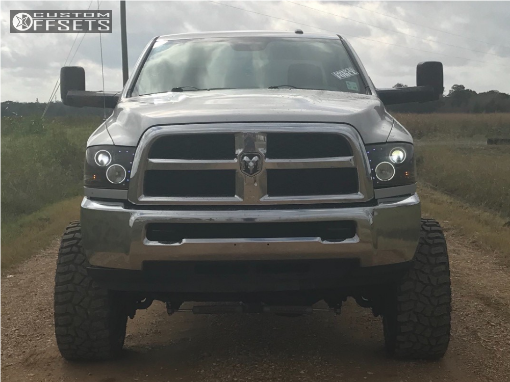 2013 Dodge Ram 2500 American Force Blade Ss8 Rough Country Suspension Lift 5in