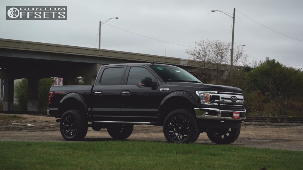 1 2017 F 150 Ford Bds Suspension Lift 6in Fuel Assault Black