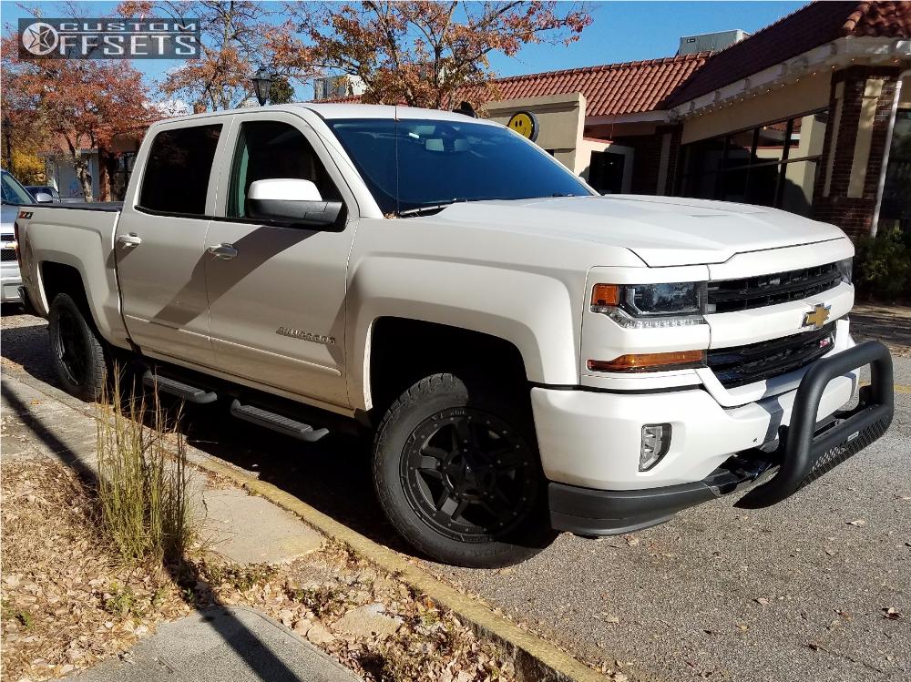 2017 Chevrolet Silverado 1500 Xd Rockstar 3 Pro Tune Leveling Kit